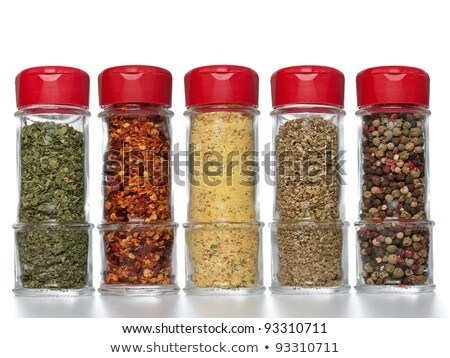 Green Peppercorns in Small Container  Stock photo © tab62