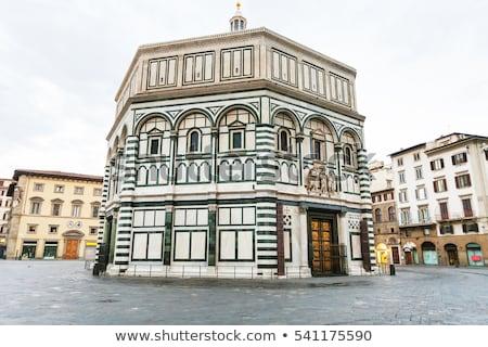 Florence Baptistery or Battistero di San Giovanni Stock photo © aladin66