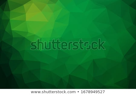 Abstract green background made from triangles Stock photo © orson