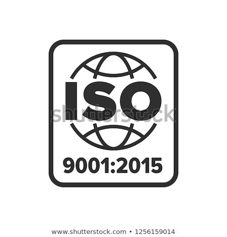 ISO 9001 Stock photo © flipfine