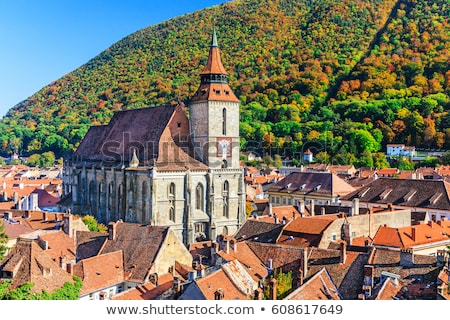 brasov black church Stock photo © tony4urban