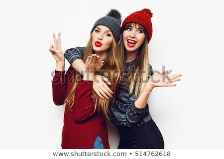 pretty winter girl stock photo © vapi