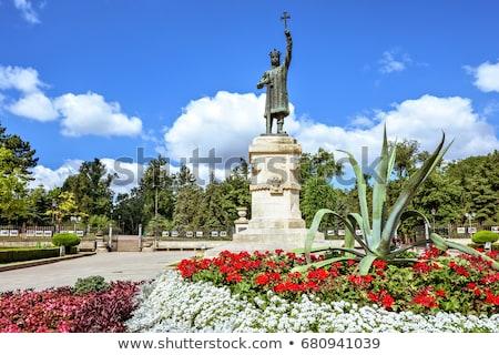 святой статуя Будапешт Венгрия Blue Sky Сток-фото © Kayco