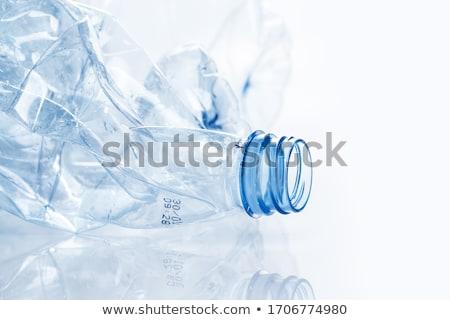 Boş kullanılmış plastik geri dönüşüm Stok fotoğraf © dolgachov