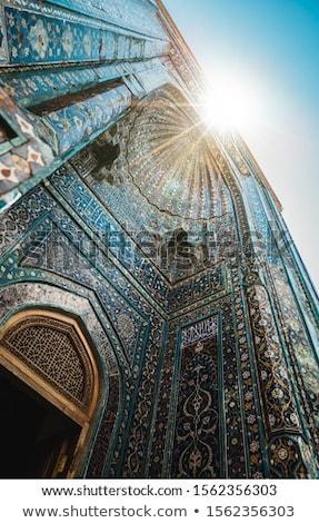 Mecset ajtók fények fény háttér imádkozik Stock fotó © SArts