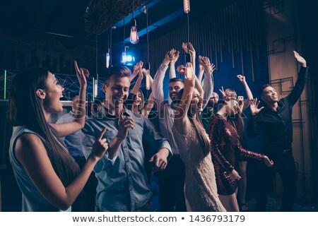 Insanlar konser gece kulübü müzik kadın Stok fotoğraf © wavebreak_media