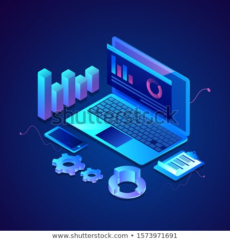 Clipboard with Online Advertising. 3D. Stock photo © tashatuvango