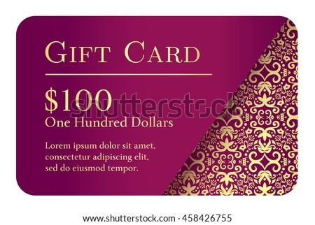 Luxe gouden gift card kant decoratie hoek Stockfoto © liliwhite