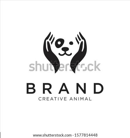 Kutya kezek állatorvos francia bulldog kéz Stock fotó © OleksandrO