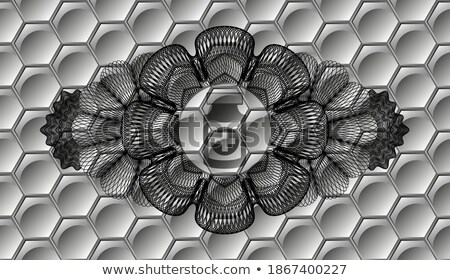 Black abstract background with grey lines, modern vector illustration Stock photo © kurkalukas