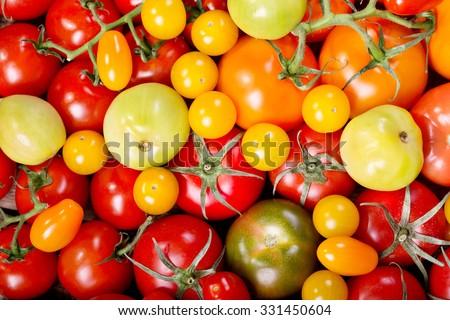 assorted various tomatoes Stock photo © M-studio