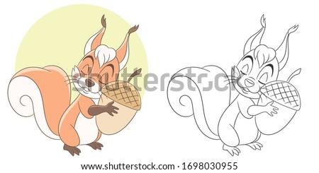 happy children characters coloring book Stock photo © izakowski