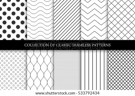 Raccolta geometrica onda zig-zag texture Foto d'archivio © ExpressVectors