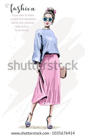 ファッション · ベクトル · スケッチ · 靴 · ステッカー · 販売 - ストックフォト © netkov1