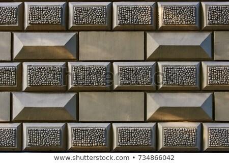 ölçek taş duvar arka plan doku duvar Stok fotoğraf © boggy