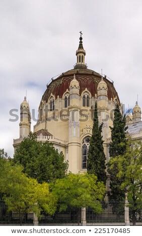 Church of San Manuel y San Benito, Madrid Stock photo © borisb17