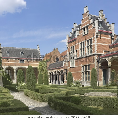 Palace of Margaret of Austria, Mechelen, Belgium Stock photo © borisb17