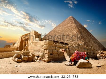 Cairo hermosa panorama ciudad Egipto Foto stock © Givaga