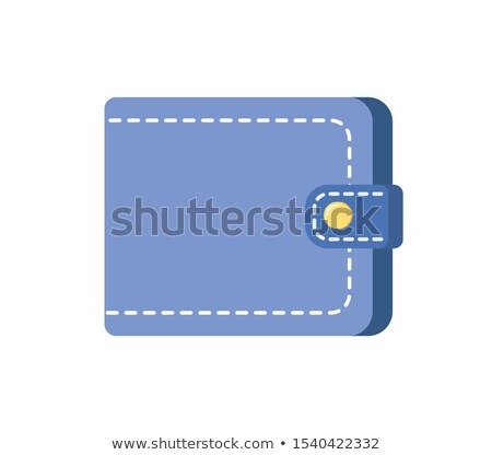 Male or Female Blue Purse Isolated Money Symbol Stock photo © robuart