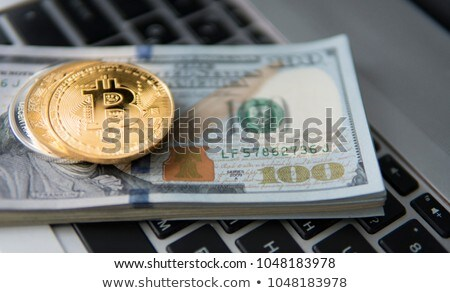 money dollar banknote coins currency Stock photo © yupiramos