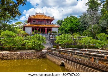 Grób Wietnam lata dzień most podróży Zdjęcia stock © bloodua