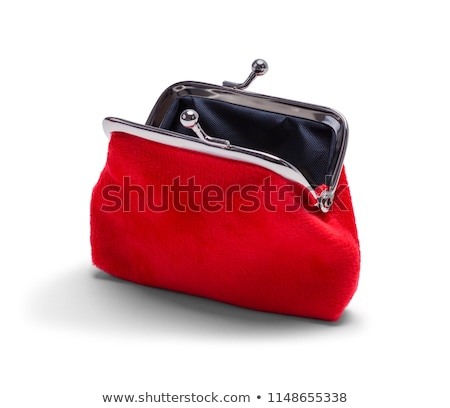 purse and coins Stock photo © AnatolyM