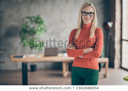 blonde with oranges Stock photo © photography33