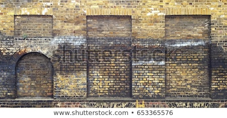 старые кирпичная стена дуга город стены аннотация Сток-фото © Paha_L