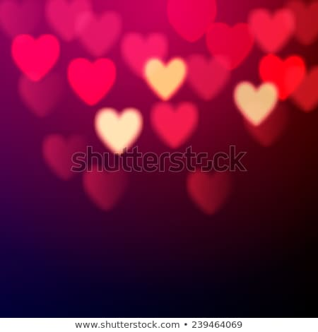Abstract Love Background with couple Stock photo © vectomart