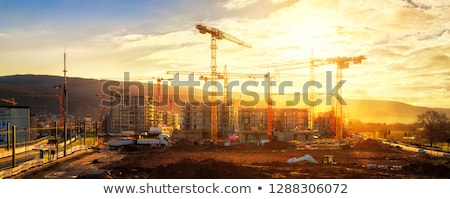 Housebuilder at work Stock photo © photography33