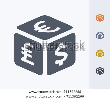 Currency cube Stock photo © OneO2