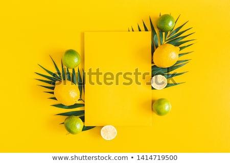 nyár · gyümölcsök · étel · kék · eper · reggeli - stock fotó © M-studio