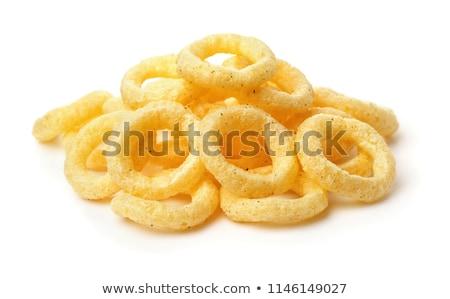 Corn round ring snacks Stock photo © lunamarina