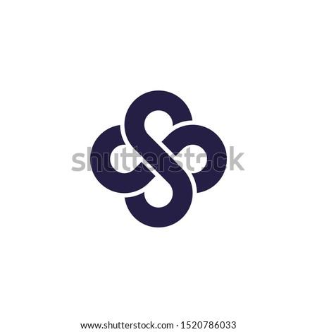 Vetor ícone carta trevo Foto stock © zzve