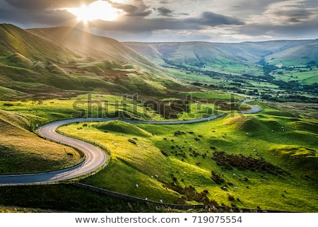 Scenic view of English countryside Stock photo © jayfish