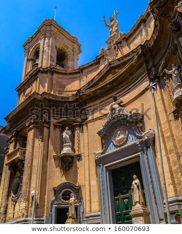 święty Malta kościoła budynku miasta lata Zdjęcia stock © Spectral