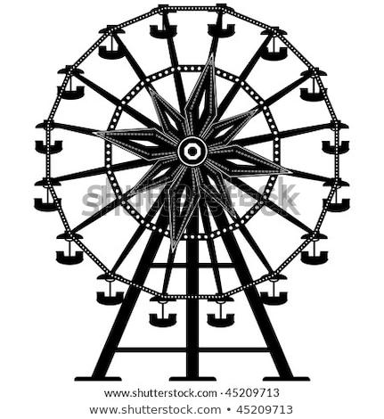 detail of a ferris wheel stock photo © dutourdumonde