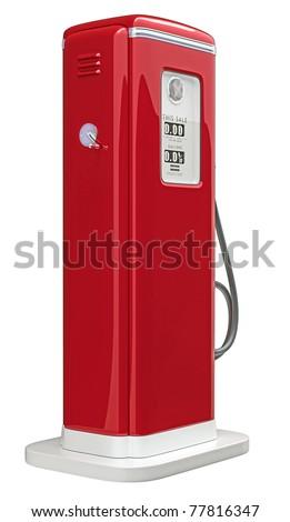 ガソリン 燃料 ノズル ボトム 表示 孤立した ストックフォト © cherezoff