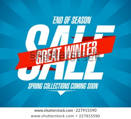 great winter sale stock photo © marinini