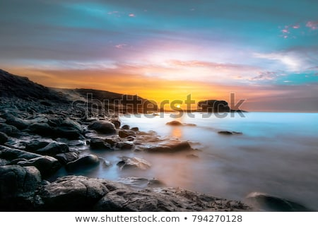 Fuerteventura sunrise Stock photo © chris2766