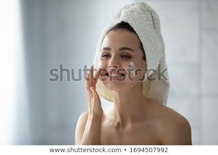 diariamente · estância · termal · retrato · bela · mulher · tratamento · de · spa · mulher - foto stock © dash