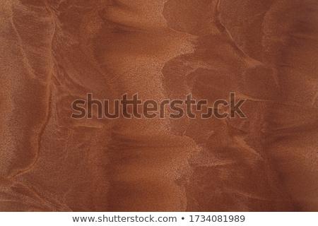 Vermelho areia textura molhado diferente ondas Foto stock © dmitroza