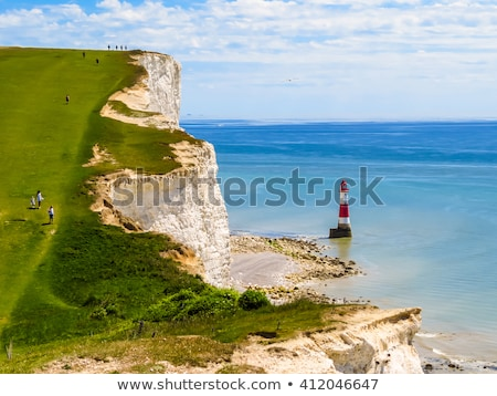 Tête phare sussex Angleterre blanche craie Photo stock © CaptureLight