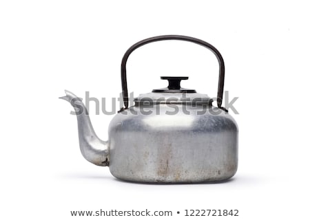 красный · электрических · чайник · изолированный · белый · воды - Сток-фото © restyler