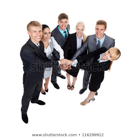 Group of executives stacking hands over each other Stock photo © wavebreak_media