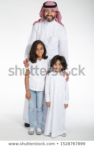 Stockfoto: Man · zoon · familie · kind
