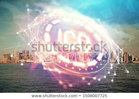 bitcoin crypto currency opportunity stock photo © lightsource