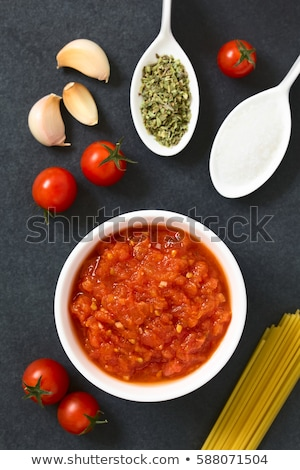 Homemade Marinara or Pomodoro Tomato Sauce Stock photo © ildi