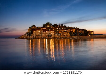 Sveti Stefan in Budva Stock photo © Givaga