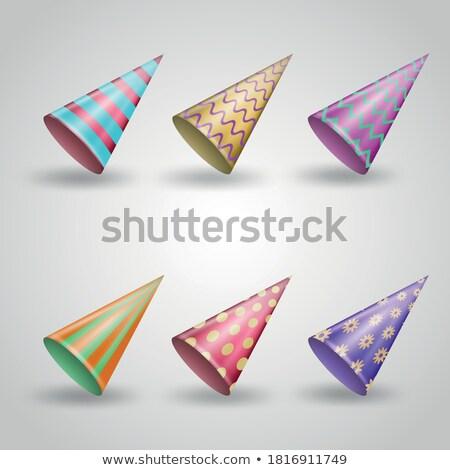 Polka wzór banery zestaw trzy kolory Zdjęcia stock © SArts